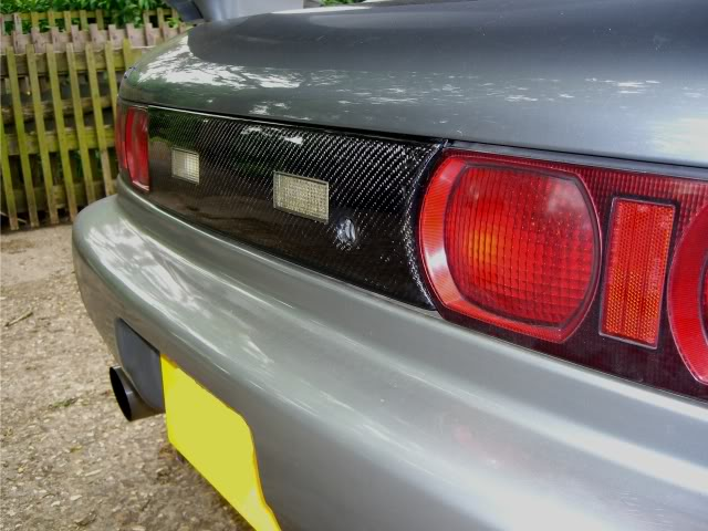 MR2 Carbon Fibre Rear Panel