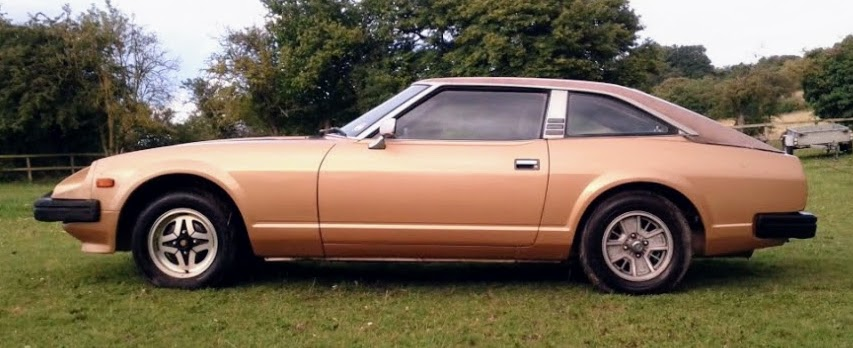 Gold Datsun 280ZX for sale